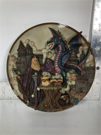 Hand Painted Collector's Plate