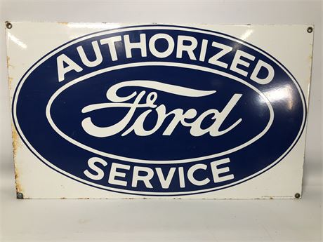 Ford Service Sign